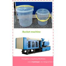 Máquina de moldeo por inyección plástica de 250ton para cubos de 1 a 5 litros