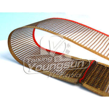 Non Stick permukaan Ptfe Mesh Conveyor Belt