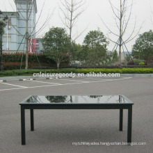Aluminium 10 seater outdoor tables with extension