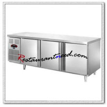 R155 1.5m/1.8m 3 Doors Fancooling/Static Cooling Refrigerator/Freezer Undercounter