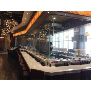 Buffet Food Turning Round Sushi Belt
