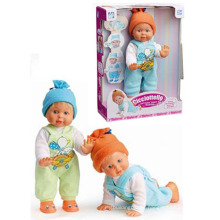 En71 Approval B/O Toys Doll Can Walk and Creep with Music (10145895)