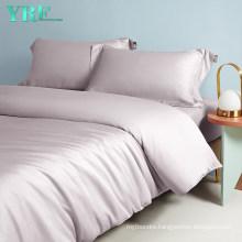 Luxury Sateen Bedding Tencel Duvet Cover Split King Size 500 Thread Count