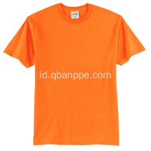 Hi vis safety yellow t-shirt