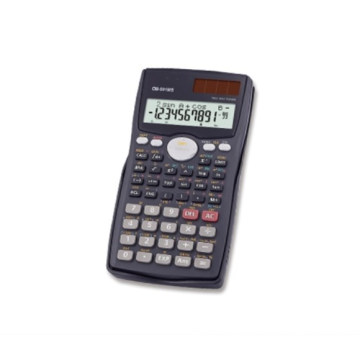 Calculatrice scientifique complète Dual Power 2Line