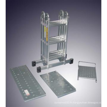 Échelle d'échafaudage multi-usages en aluminium