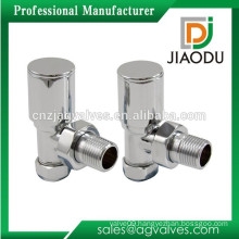 JD-6135 Chrome Plated Brass Angle Radiator Valve