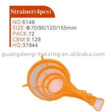 strainer(4pcs) en plastique