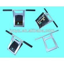 bright fashion metal computer stand OEM manufacture