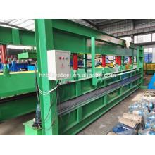 6M manuell Metall Stahlblech Biegen und Scheren Maschine