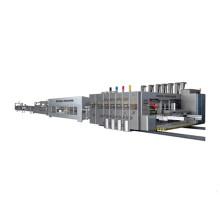 Fully Automatic Carton Flexo Printer Slotter Gluer Iinkage Line Machine