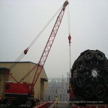 Pára-choque de borracha natural marinho inflável usado para o barco