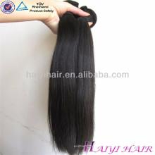 2016 meilleure vente vierge droite cheveux humains armure pas cher prix cheveux bundles péruvienne armure de cheveux humains