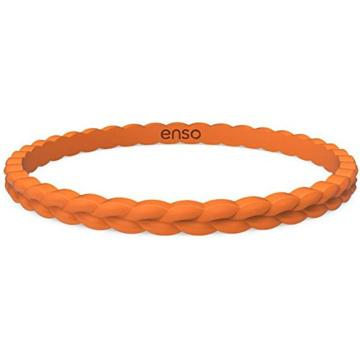 Silicone Bracelet Weave Stackable Bracelet Rubber Wristband
