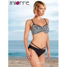Miorre Leopard Print Women Swimwear Bikini