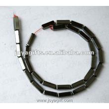 """4x13MM Loose Magnético Beads quadrados Hematite 16 """""""