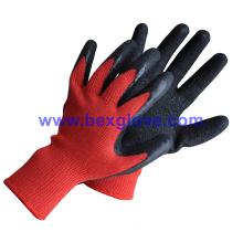 Garden Work Glove, 10 Guage Polyester