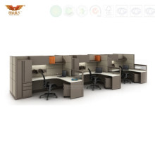 High Quality Call Center Line Office Cubicles Office Furniturewith Ao2 System Style (HY-242)