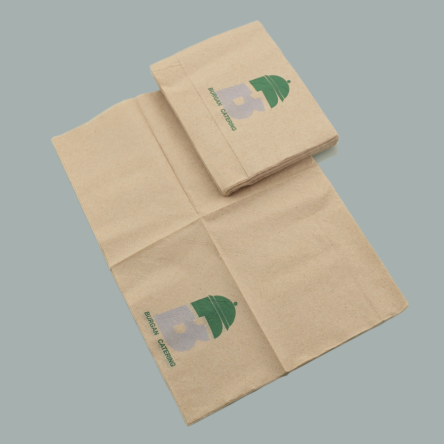 Brown Recycled Napkins