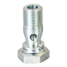 Conector macho para conexões de sistema de lubrificação