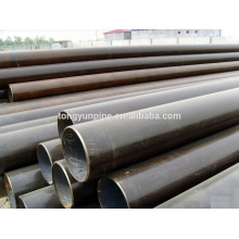 Q235/ss400 mild steel pipe size