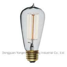 25W/40W/60W 19 Anchors St64 Edison Bulb with Tip Top