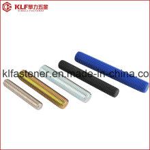 ASTM A193 Gr. B7 / B8 / B8m / B16 Haste roscada