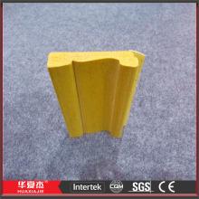 Espuma de PVC placa de contorno da espuma plástica moldagem perfil