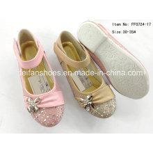 Crianças sapatos sapatos princesa sapatos único sapatos de dança (ff0724-17)
