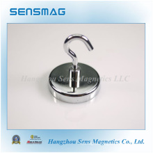 Powerful Permanent Ceramic Magnets Assembly, Magnetic Hooks