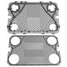 Placa de aço inoxidável Vicarb para o permutador de calor, componentes de trocador de calor