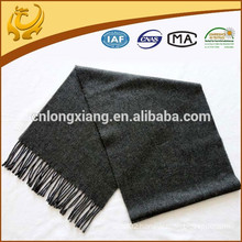new design low MOQ wedding plain wool shawls grey