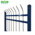 Galvanized steel pipe Cheap wrought iron fence panels