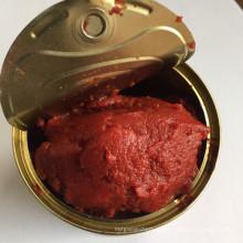 100% de conservas de conservas de pasta de tomate