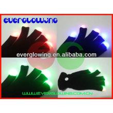 Christmas gloves flash