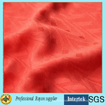 Jacquard Rayon Fabric for Lady Shirt Cloth