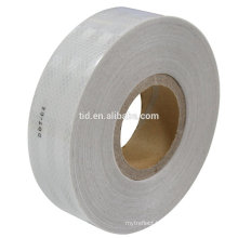 """2"""" x 12' Roll Diamond Grade Conspicuity Reflective Safety Tape DOT-C2 Solid White"""