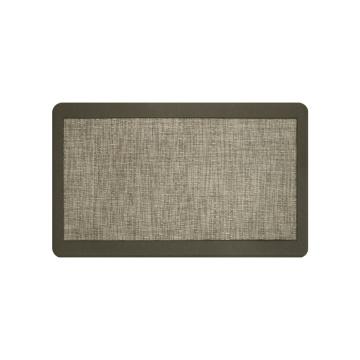 Padded Brown Kitchen Floor Rug