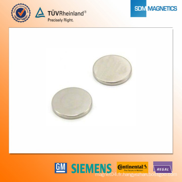 Aimant en néodyme D42 * 3mm N42