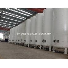 20m3 Welded Steel Liquid Oxygen Nitrogen Lar Low Pressure Storage Tank