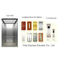 Anti-Fingerprint Stainless Steel Home Elevator with Good Price
