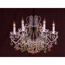 High Class Multicoloured Crystal Hanging Lamps (cos9225)