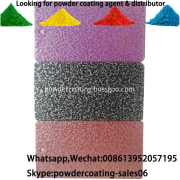 Electrostatic Spray Hammer Tone Texture Powder Coating