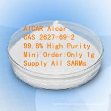 Materia prima farmacéutica Aicar Acadesine CAS 2627-69-2 de la pureza elevada de Aicar