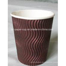 6,5oz-16oz Ripple Paper Cup