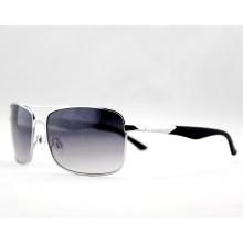 Мода логотип Пользовательские металлические рамки солнцезащитные очки для мужчин (14128)