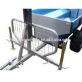 China wholesale atv log trailer with crane,timber trailer,timber trailer with crane