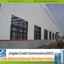 Entrepôt en acier préfabriqué professionnel et de haute qualité