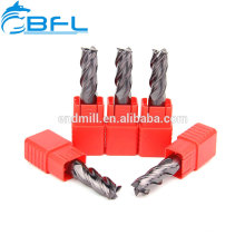 Solid Carbide Flat End Mill,China Made CNC Square End Mill For Metal Working