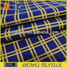 tissu de coton cocher imprimé toile de shaoxing